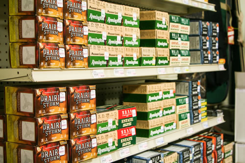 Hunting supplies, Firearms and Ammunition for sale at Shelby Paint and Hardware.