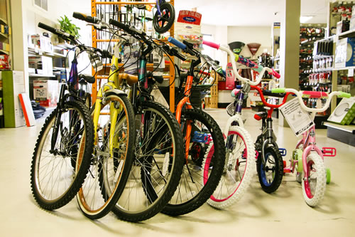 Huffy Bikes and Bicycles for sale at Shelby Paint and Hardware.